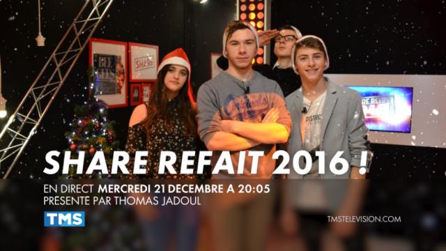 Mercredi 21 décembre en direct à 20h05 sur TMS